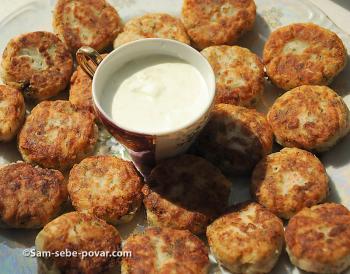 рецепт с фото, готовые картофельные котлетки