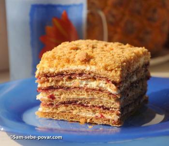 готовый медовый, торт рецепт с фото