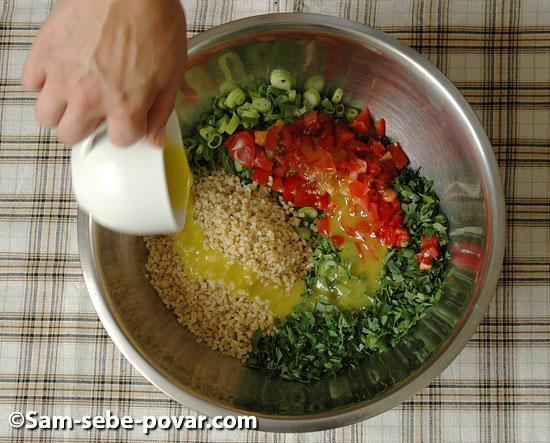 ингредиенты для салата табуле рецепт с  фото