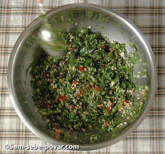 рецепт с фото перемешиваем салат табуле